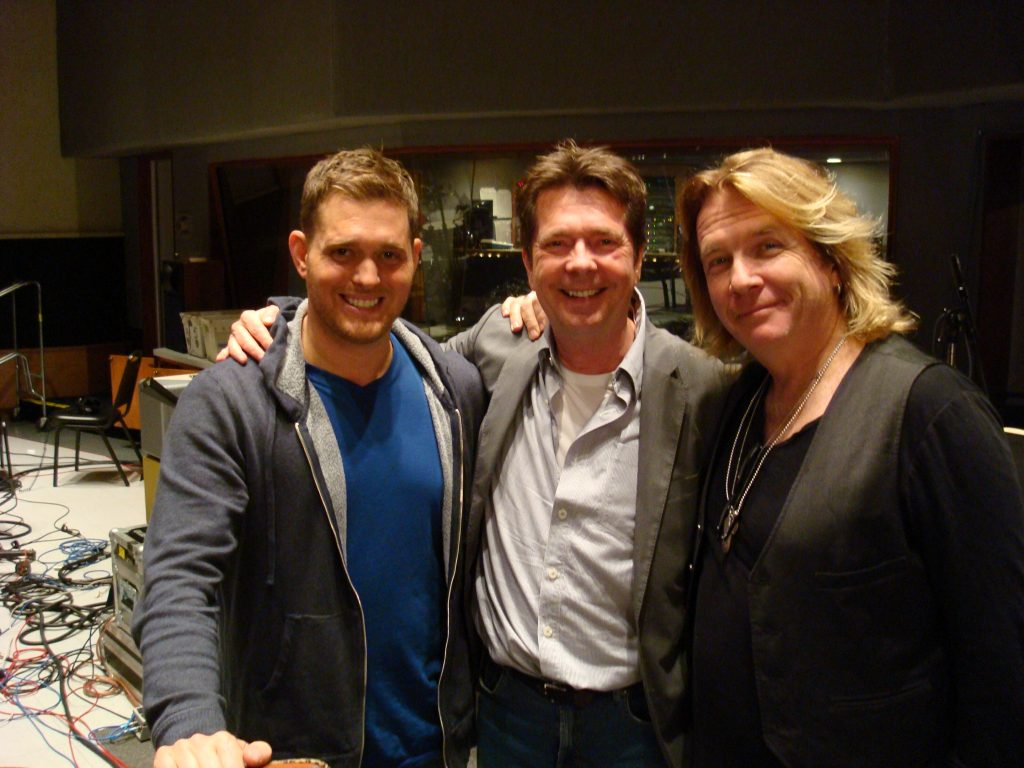 Michael Bublé, Bob Buckley, and Bob Rock